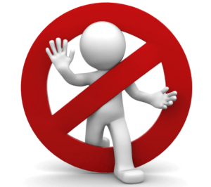 Запрет на установку брекетов